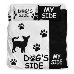 Chihuahua Dog's Side Bedding Set