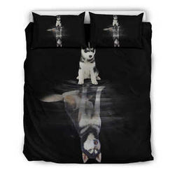 Husky Dream Bedding Set