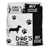 Dachshund Dog's Side Bedding Set