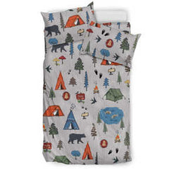 Camping Fun Bedding Set