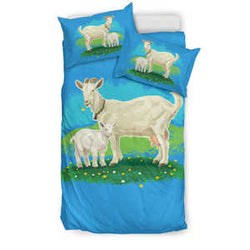 Goat Family Bedding Set