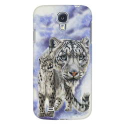 White Leopard Phone Case