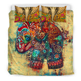 Elephant Mosaic Bedding Set