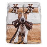 Jack Russell Lovers Bedding Set