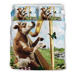 Cow Harp Bedding Set