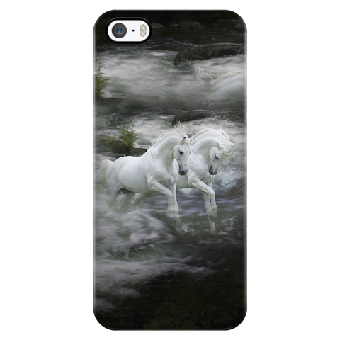 Twin Illusions iPhone Case