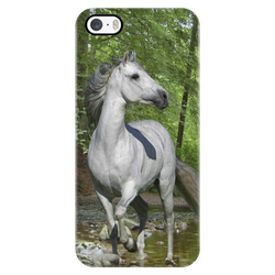 Majestic Grey in the Woods iPhone Case