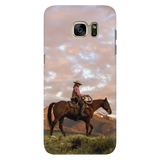 Cowboy Sunrise Galaxy Case