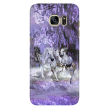 In a Purple Dream Galaxy Case