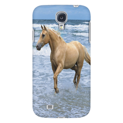 Palomino On The Beach Galaxy Case