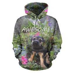 Silli Be Awesome Dog Lover Hoodie