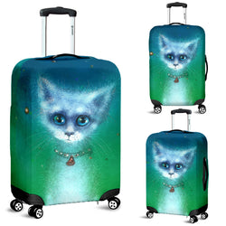Magic Cat Luggage Cover