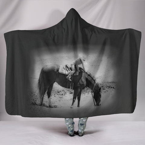Young Cowboy and Horse TV Blanket - Fleece Blanket with Gorgeous Licensed Artwork - Youth and Adult Sizes
