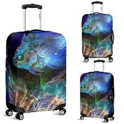 Ghost Fish Luggage Cover