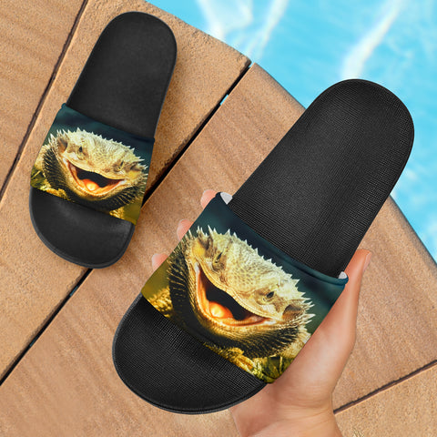 Copy of Bearded Dragon Adidas Slipper Type Slide