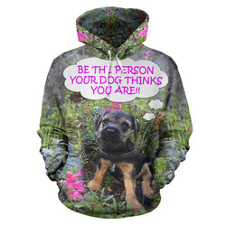 Silli Be the Person Dog Lover Hoodie