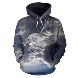 Unicorn in the Clouds Hoodie