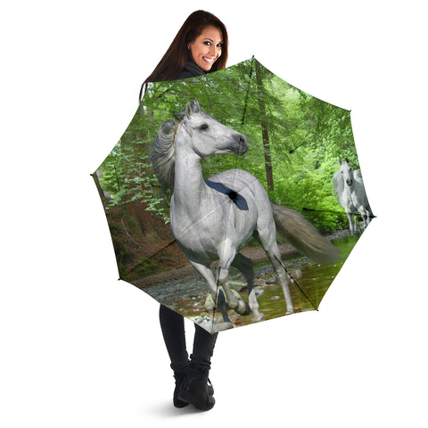 Grey Horse Umbrella