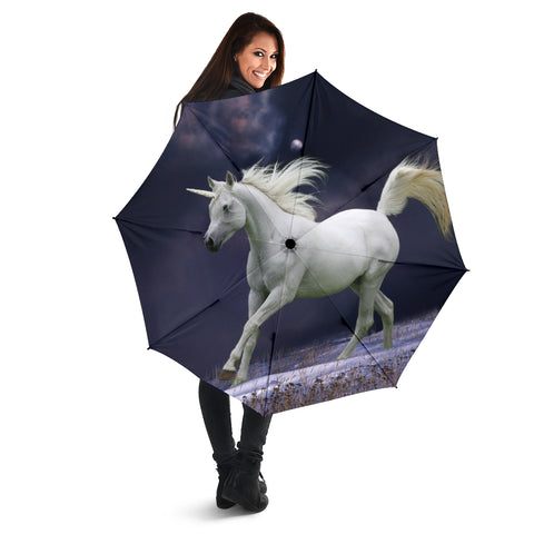Midnight Unicorn Umbrella