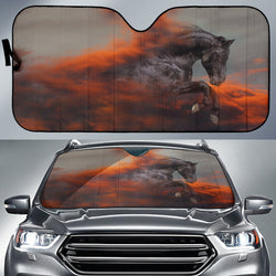 Lucifer's Passion Horse Sunshade for Car Windshield