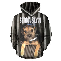Silli Seriously? Dog Lover's Hoodie