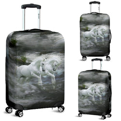 Twin Illusions Luggage Cover