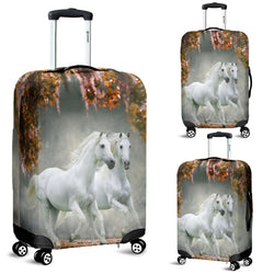 Secret Lipizzaner Garden Luggage Cover