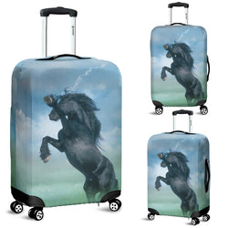 Friesian in the Mist Luggage Cover