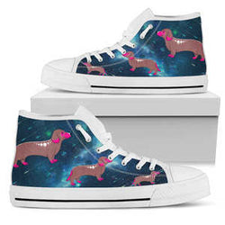 Love Dachshund High Top