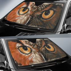 Great Horned Owl Sunshade