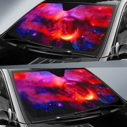 Cosmic Red Star Universe Sunshade