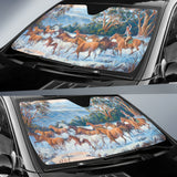 Man From Snowy River Horse Sunshade for Car Windshield