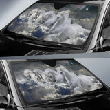 Out of the Storm Horse Sunshade for Car Windshield