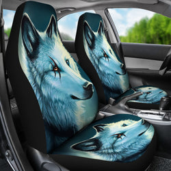 Spirit Wolf Car Seat Covers