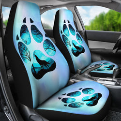 Wolf Paw Car Seat Covers