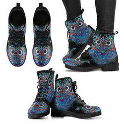 Owl Handcrafted Boots