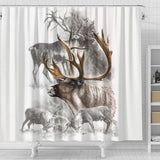 Animal Shower Curtain