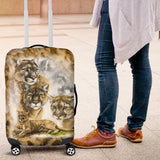 Mountain Lion Life Luggage Cover