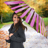 Pink Flower Umbrella