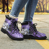 LANGRI151432 Purple Horse Work Boots
