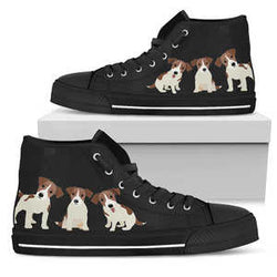 Women's Jack Russell Terrier High Top Sneakers