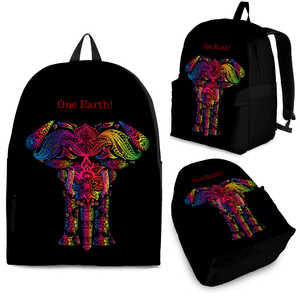 One Earth Elephant Back Pack