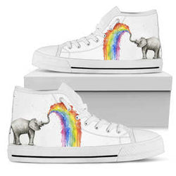 Elephant Color High Top Shoe