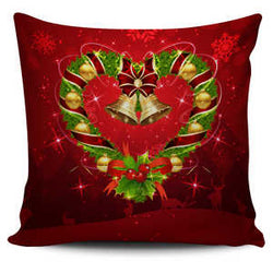 Holiday LOVE Pillow Covers - Heart or Letter O