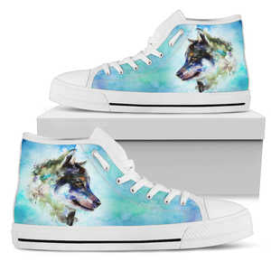 Wolf High Top Shoe