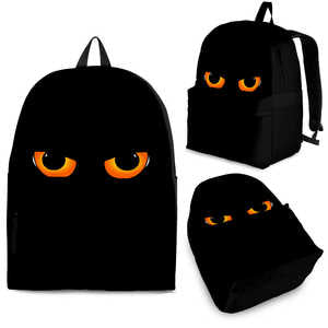 Striking Cat Eyes Backpack