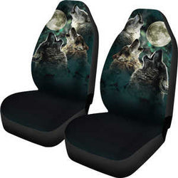 Wolf Mates Howling Car Seat Covers