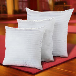 Soft White Cotton Filled Square Pillow Insert
