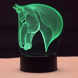3D Night Light lamps LED for kids