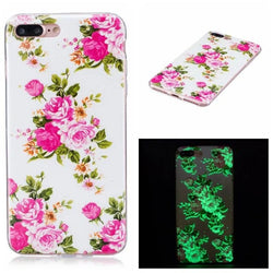 Pink Roses iPhone Case Glows in the Dark